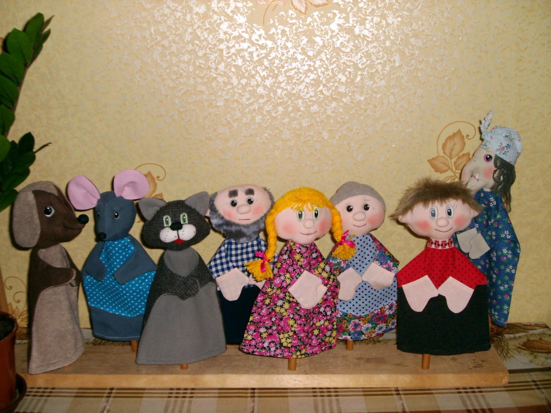 Настольный кукольный театр своими руками: выкройки и описание 30